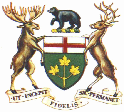 Arms Badges Arms Of Canadas Provinces And Territories